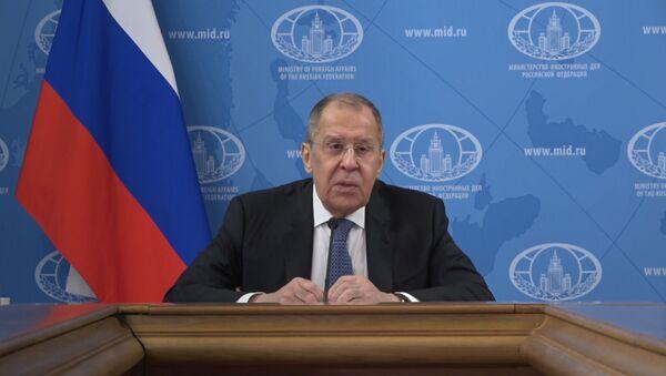 Лаўроў: Вашынгтон выкарыстаў пандэмію ў сваёй знешняй палітыцы - Sputnik Беларусь
