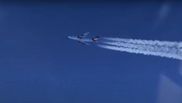 Кампанія Virgin запусціла ракету ў космас з борта самалёта - Sputnik Беларусь