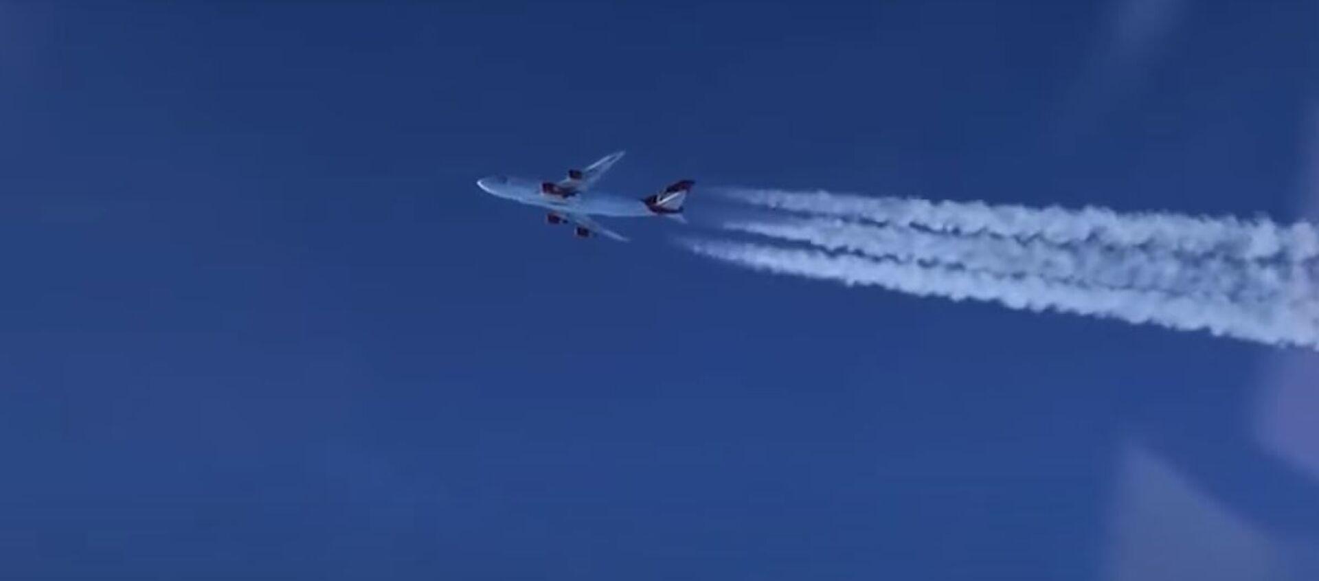 Кампанія Virgin запусціла ракету ў космас з борта самалёта - Sputnik Беларусь, 1920, 04.05.2021