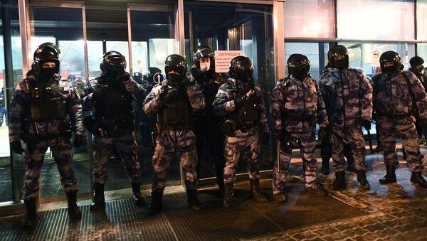 Сотрудники российской полиции - Sputnik Беларусь