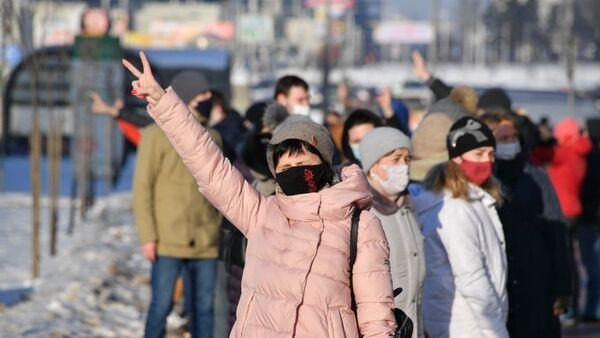 ГУВД рассказало о задержанных на акциях протеста в Минске в субботу - Sputnik Беларусь