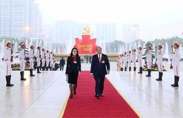 13-ы з'езд кіруючай Камуністычнай партыі В'етнама - Sputnik Беларусь