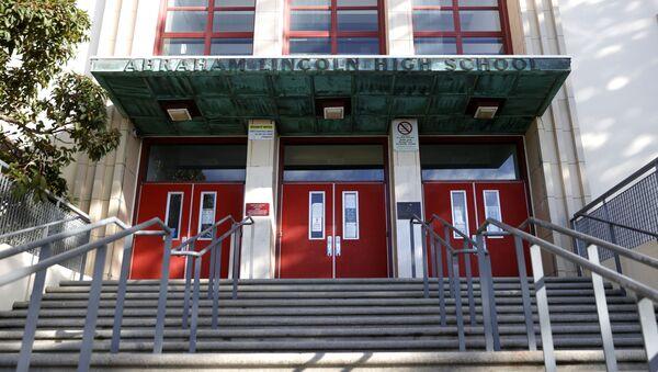 Школа имени Авраама Линкольна в Сан-Франциско - Sputnik Беларусь