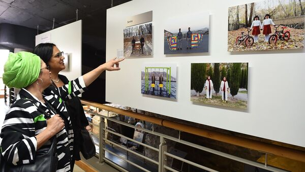 Открытие выставки победителей конкурса им. Андрея Стенина в Кейптауне - Sputnik Беларусь