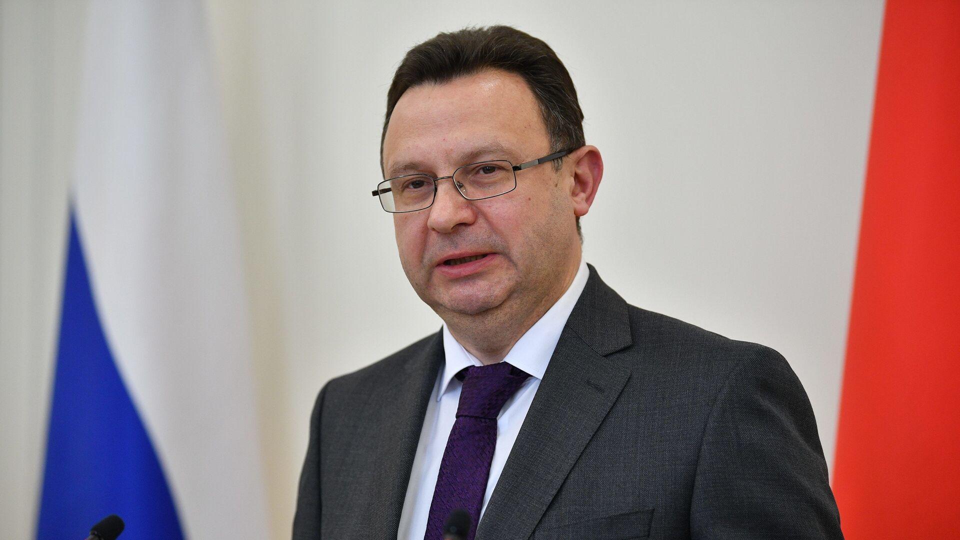 Министр здравоохранения Дмитрий Пиневич - Sputnik Беларусь, 1920, 25.09.2021