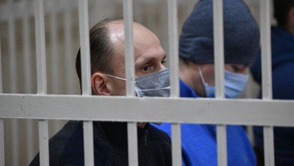 Топ-менеджэры Белгазпрамбанка на папярэднім судовым пасяджэнні па справе Бабарыкі - Sputnik Беларусь