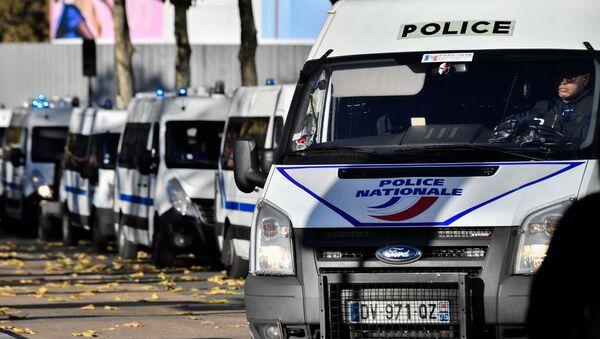Полицейские автомобили во Франции - Sputnik Беларусь