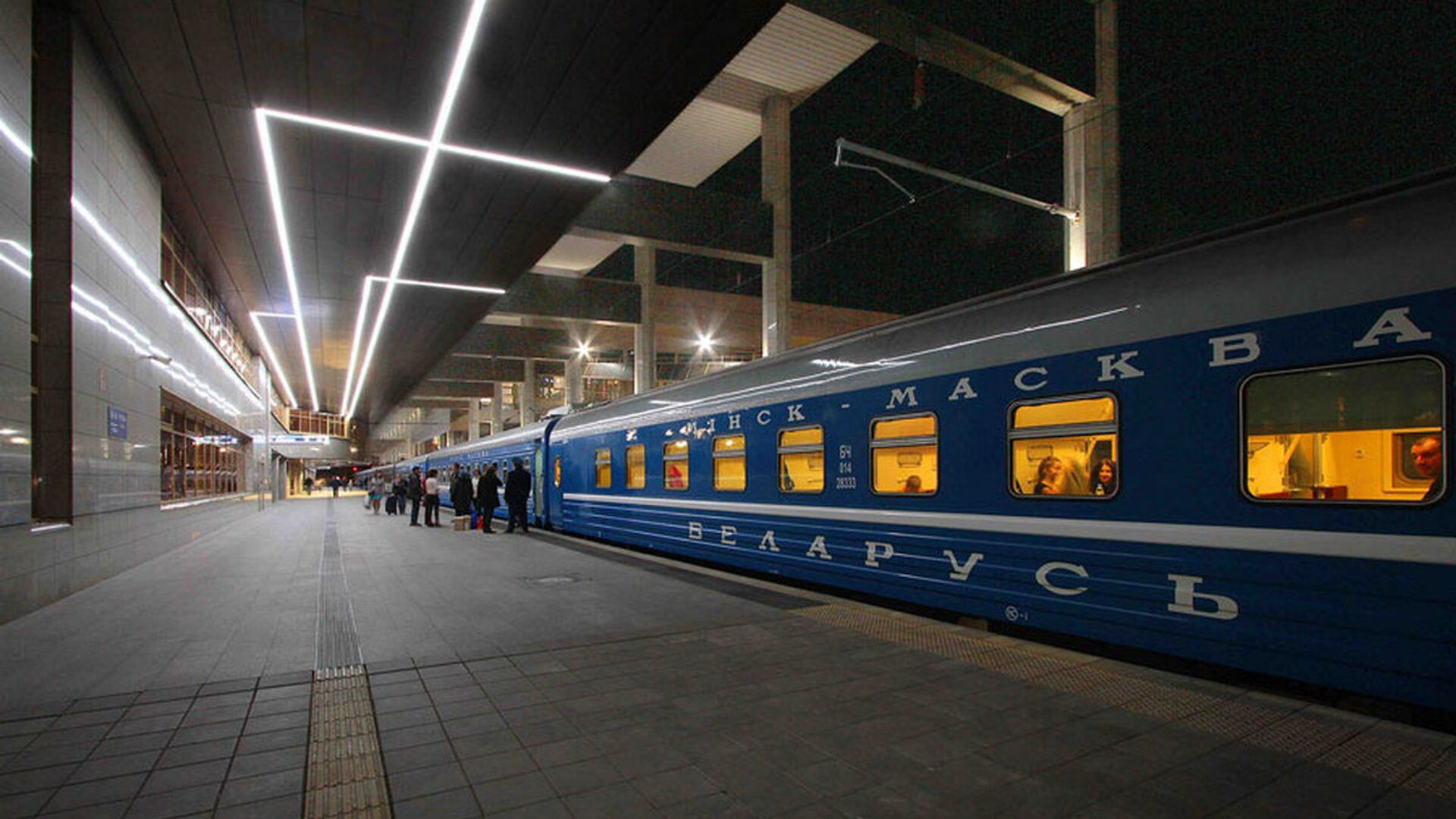 Поезд Минск-Москва - Sputnik Беларусь, 1920, 21.02.2021