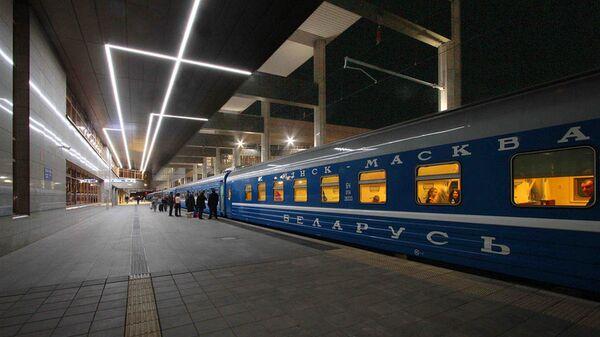 Поезд Минск-Москва - Sputnik Беларусь