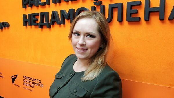 Аналітык БИСД Кацярына Рэчыц - Sputnik Беларусь