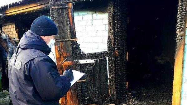 Мать и дочь погибли в огне в Березинском районе - Sputnik Беларусь