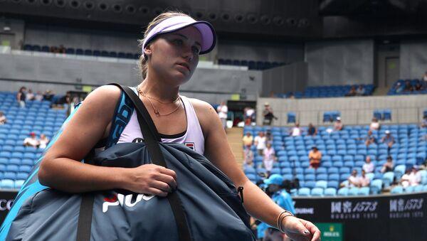 Американская теннисистка София Кенин - Sputnik Беларусь