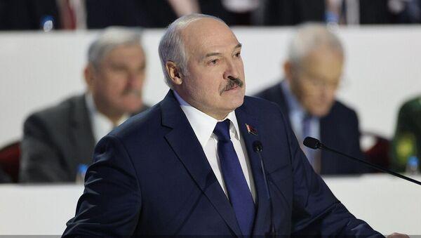 Выступление Лукашенко во время ВНС - Sputnik Беларусь