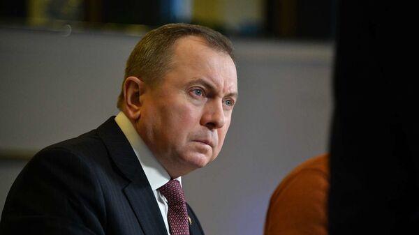 Глава МИД республики Владимир Макей - Sputnik Беларусь