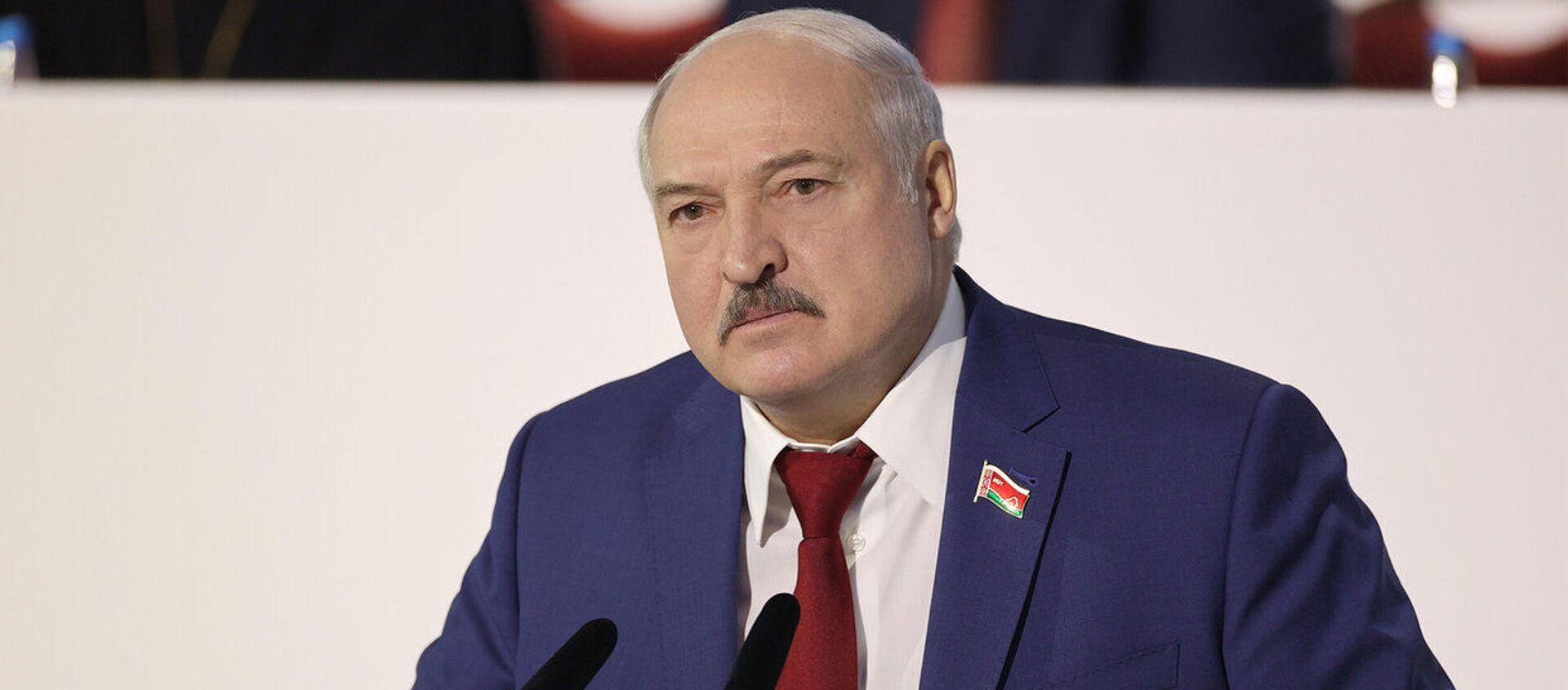 Аляксандр Лукашэнка на другі дзень УНС - Sputnik Беларусь, 1920, 12.02.2021