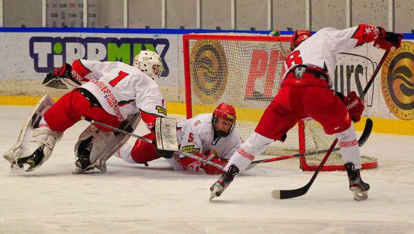 Хоккеисты сборной Беларуси - Sputnik Беларусь