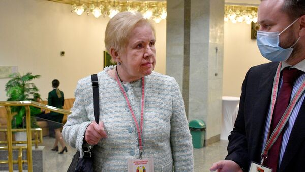 Лидия Ермошина во время ВНС - Sputnik Беларусь