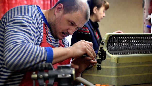 Фабрика по производству баянов в Молодечно - Sputnik Беларусь