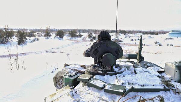 Танковые учения на Гожском полигоне - Sputnik Беларусь