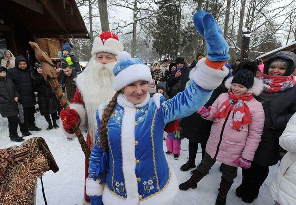 Резиденция Деда Мороза в Беловежской пуще - Sputnik Беларусь