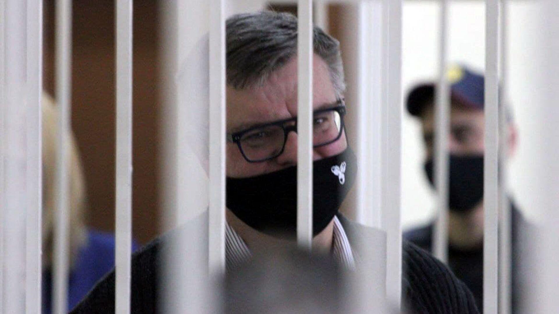 Виктор Бабарико в суде - Sputnik Беларусь, 1920, 17.02.2021