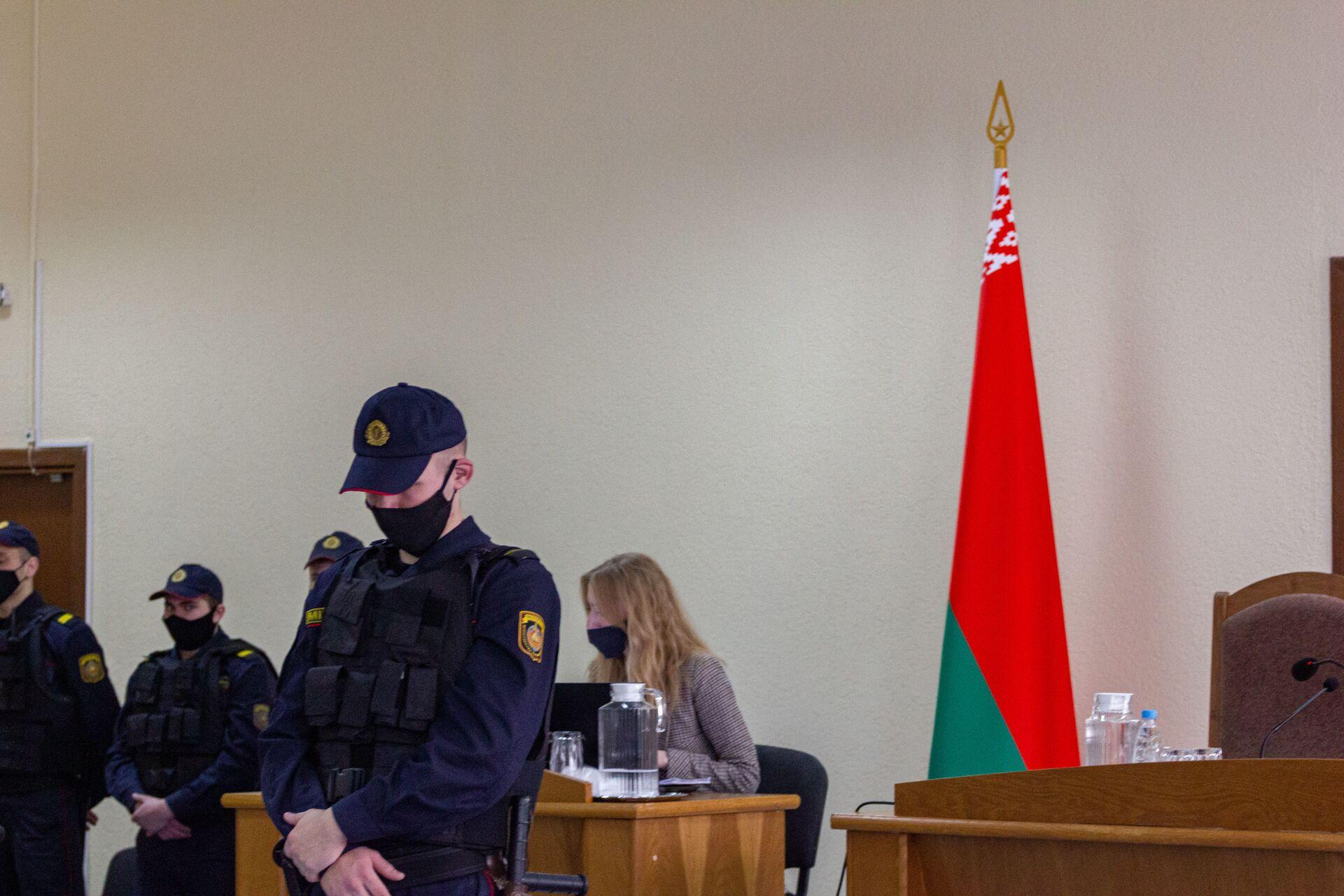Суд па справе Віктара Бабарыкі: вынікі першага дня - Sputnik Беларусь, 1920, 17.02.2021