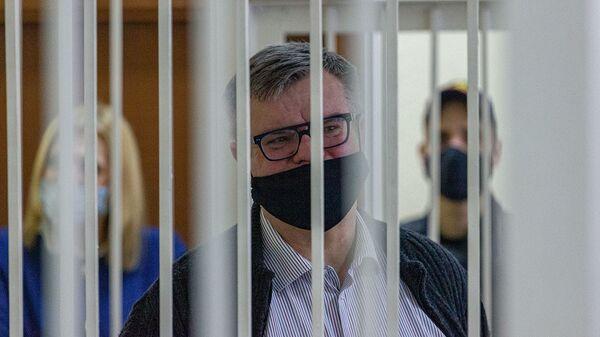 Дело Виктора Бабарико - видео из зала суда - Sputnik Беларусь