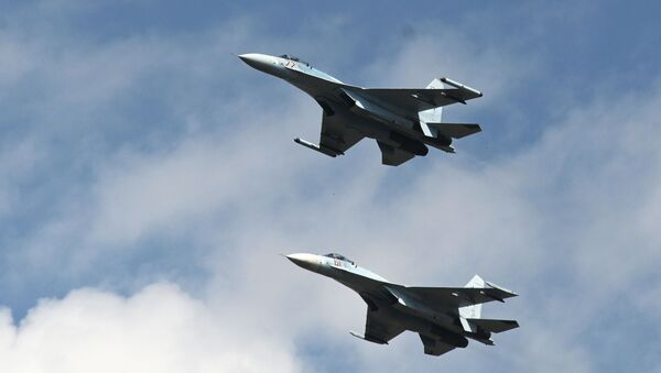 Истребители Су-27  - Sputnik Беларусь