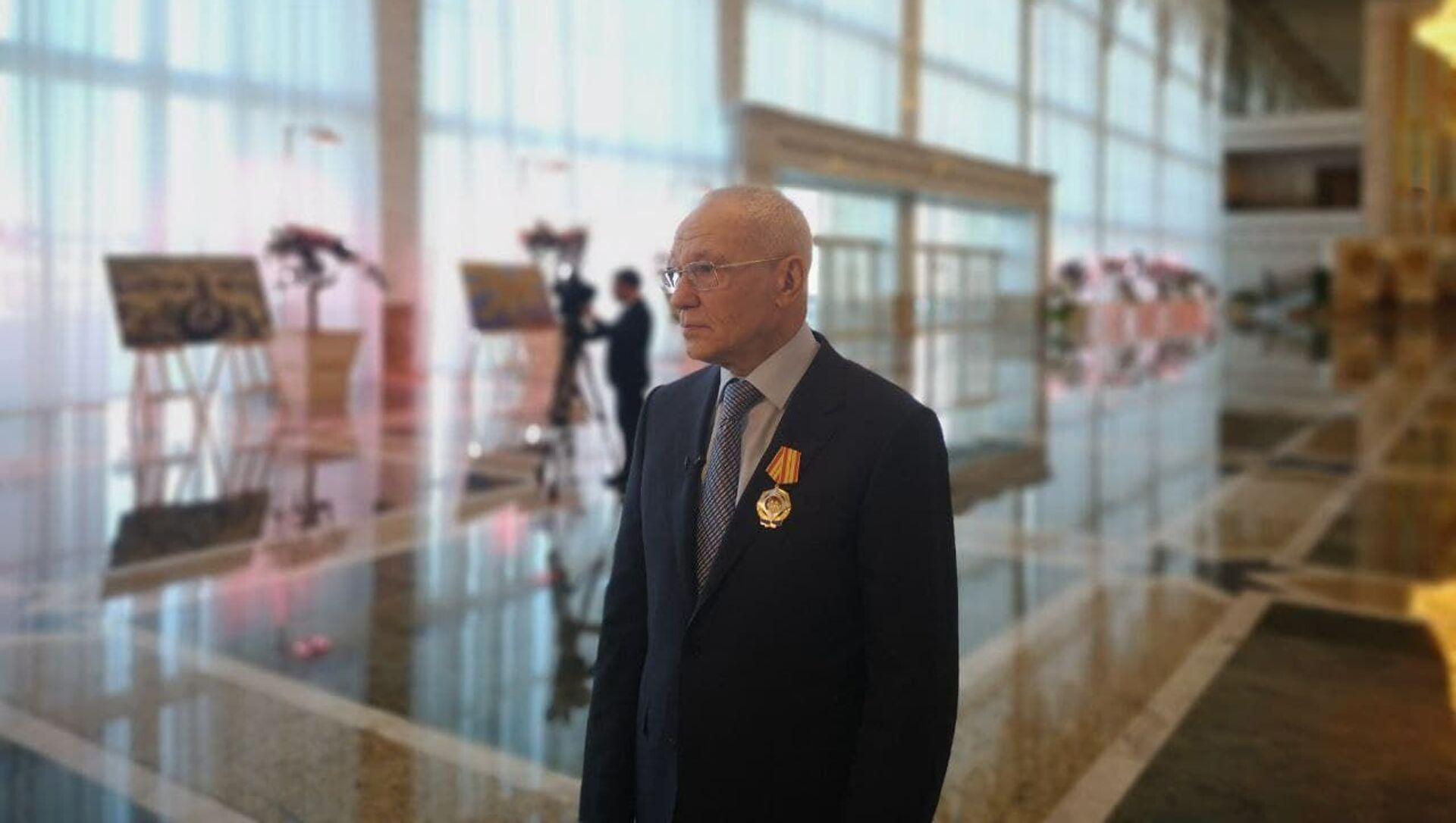Государственному секретарю Союзного государства был вручен орден Почета - Sputnik Беларусь, 1920, 18.02.2021