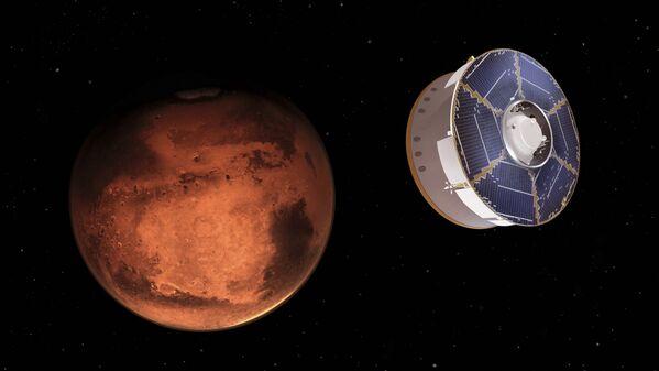 Марсоход Perseverance приближается к Марсу - Sputnik Беларусь