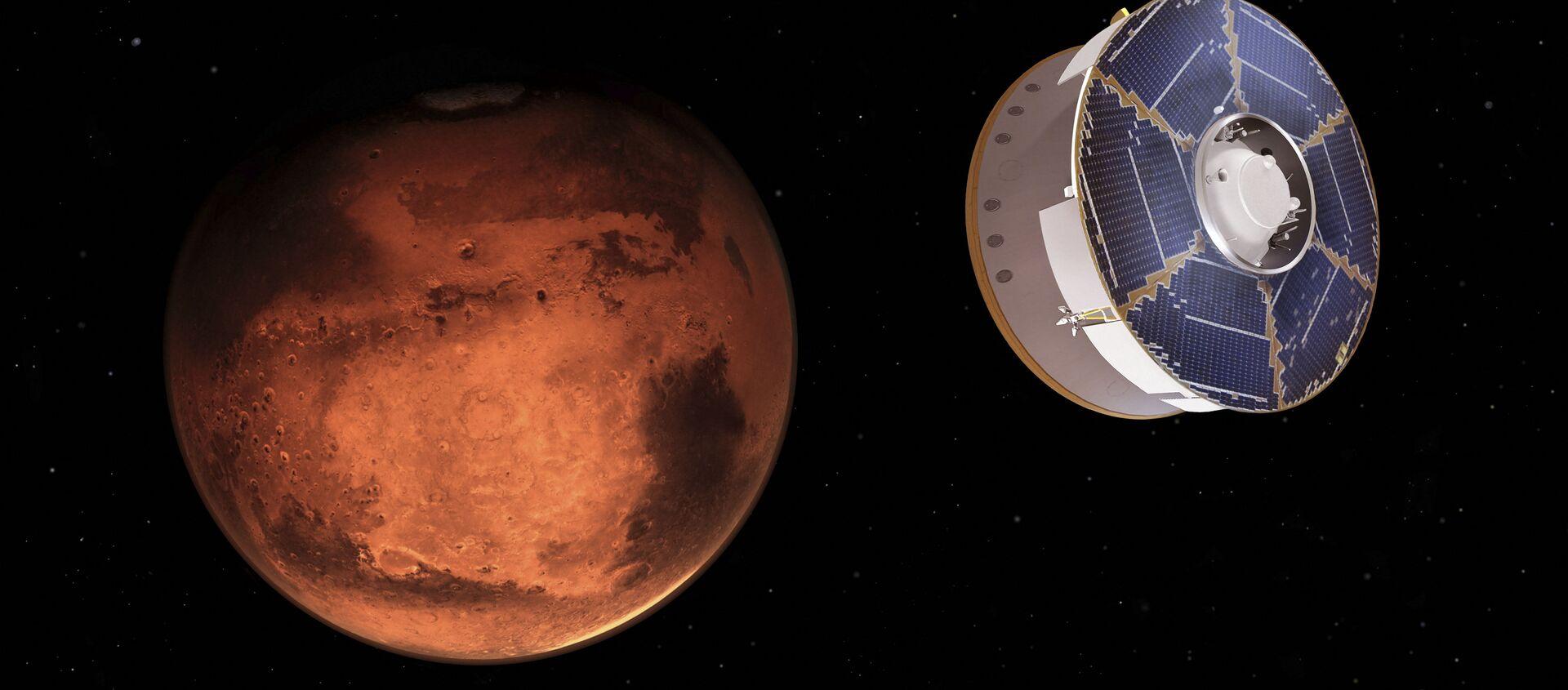 Марсоход Perseverance приближается к Марсу - Sputnik Беларусь, 1920, 21.02.2021