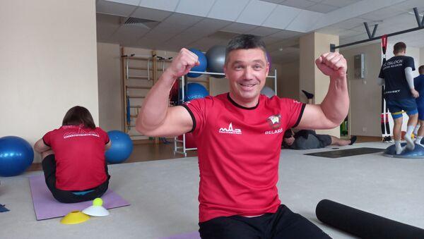 Секрет здоровой спины раскрыл гонщик МАЗ-СПОРТавто - Sputnik Беларусь