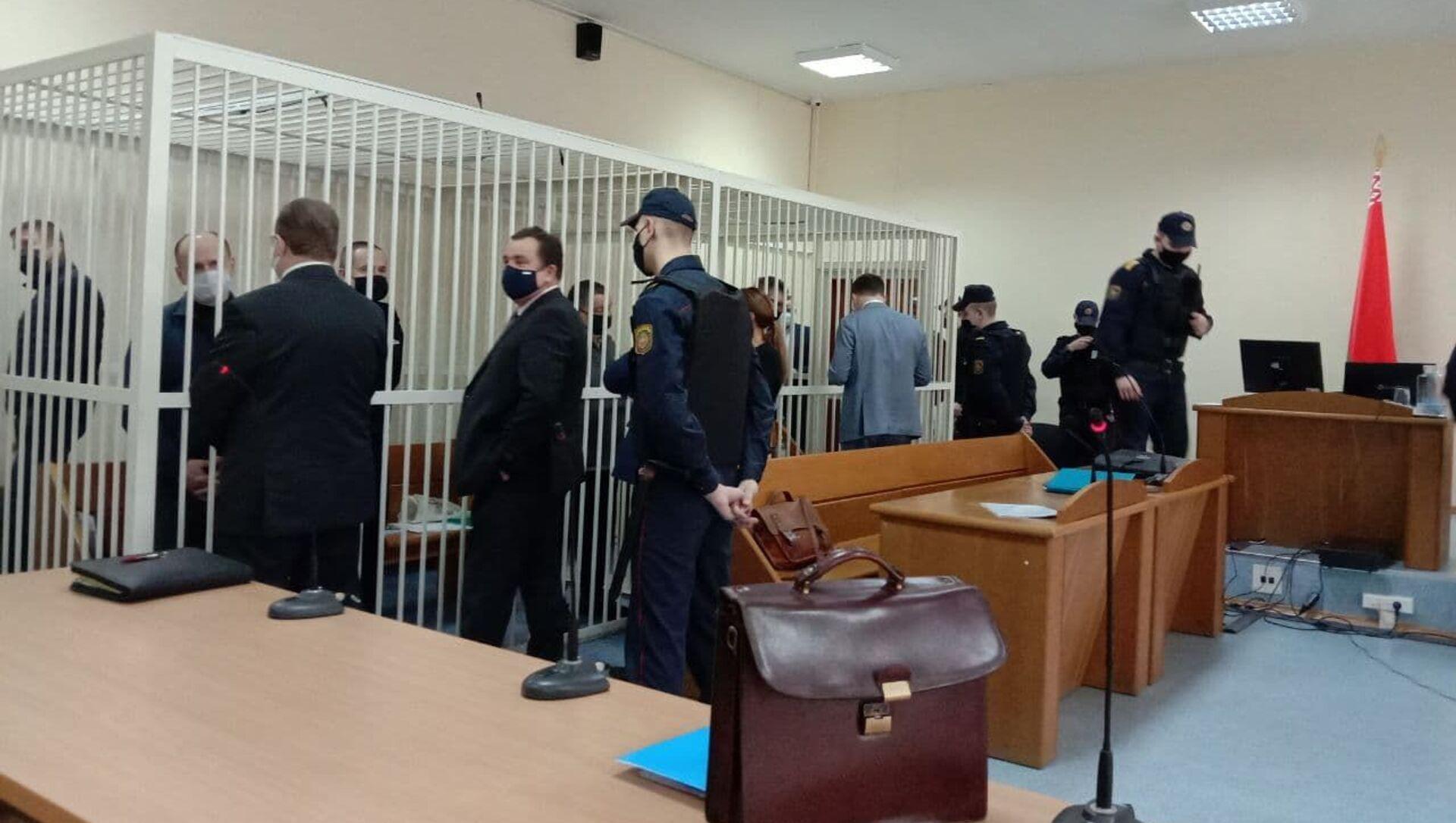 Четвертый день суда над Виктором Бабарико - Sputnik Беларусь, 1920, 22.02.2021