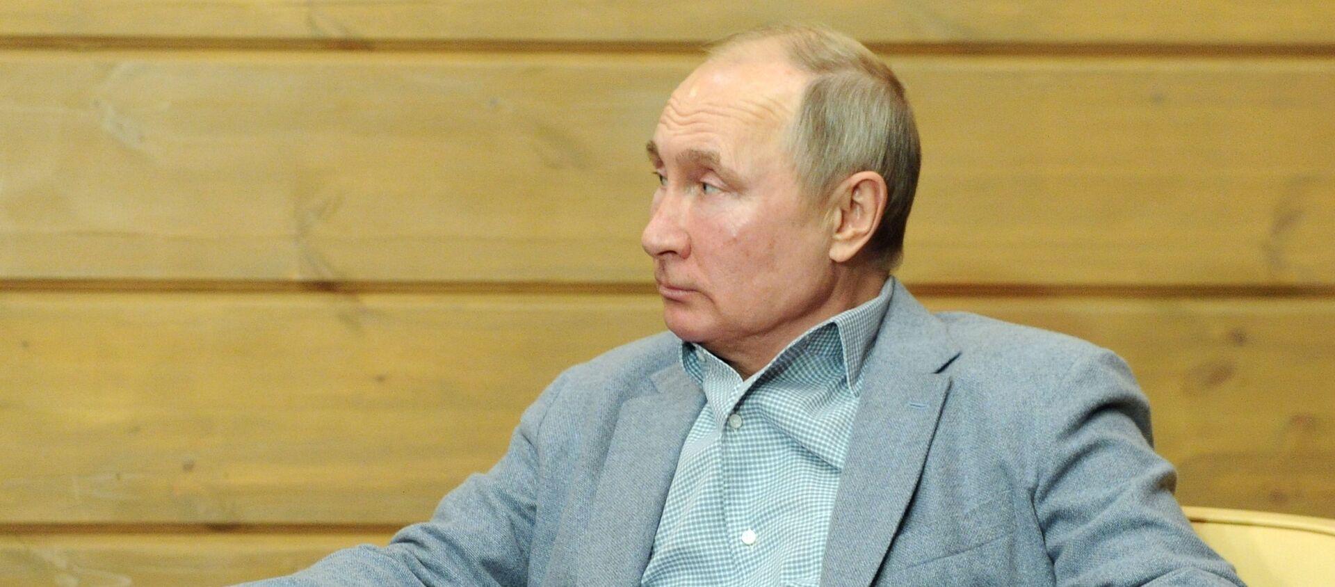 Президент РФ В. Путин встретился с президентом Белоруссии А. Лукашенко - Sputnik Беларусь, 1920, 24.02.2021
