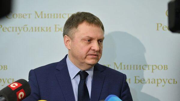 Міністр эканомікі Аляксандр Чарвякоў - Sputnik Беларусь