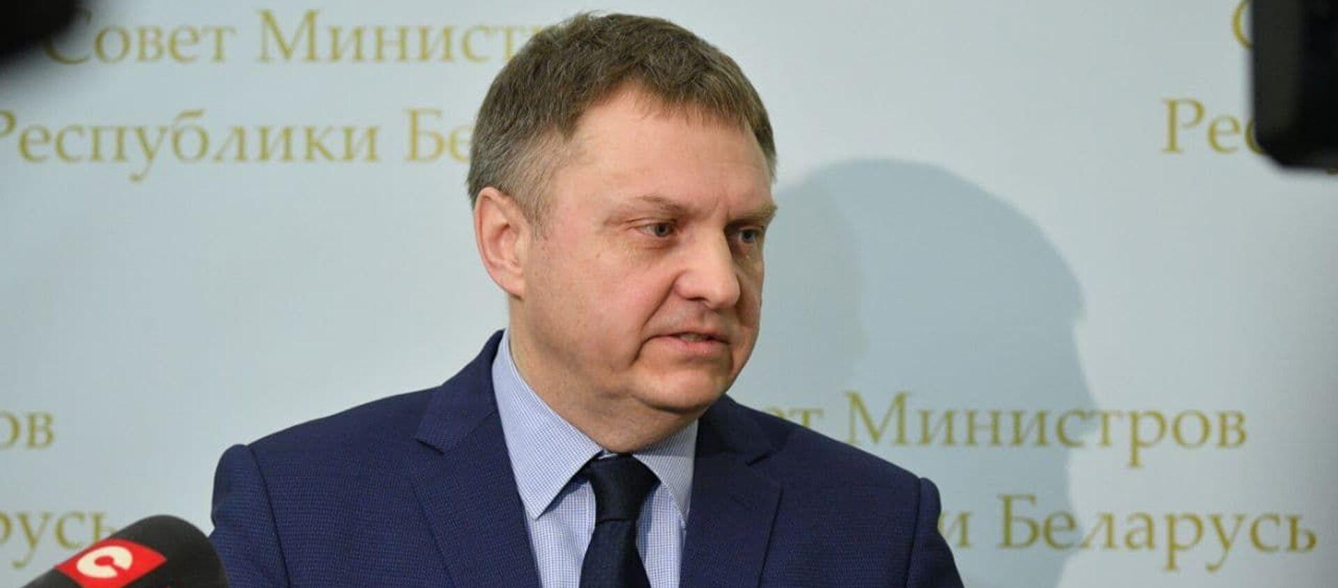 Министр экономики Александр Червяков - Sputnik Беларусь, 1920, 23.02.2021