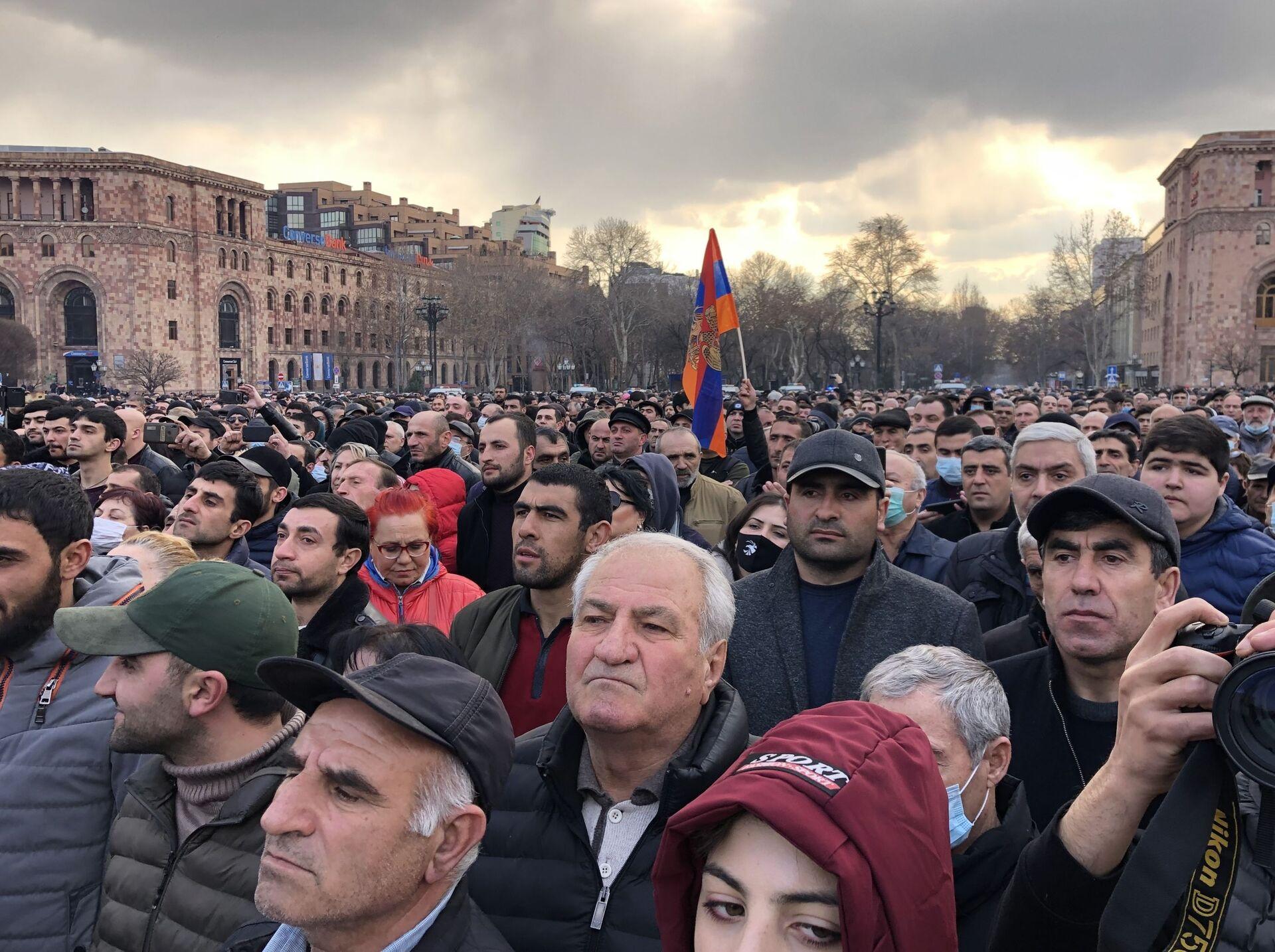 Политический кризис в Армении: что происходит в стране сейчас - Sputnik Беларусь, 1920, 26.02.2021