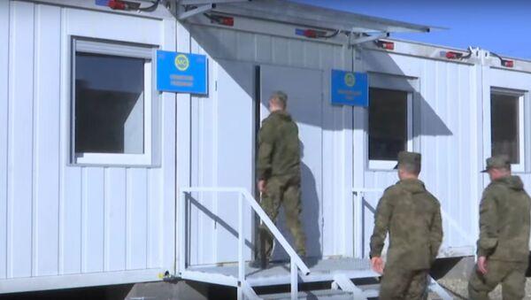 Минобороны показало, в каких условиях живут миротворцы в Карабахе - Sputnik Беларусь