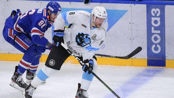 Хоккей. КХЛ. Матч СКА - Динамо (Минск) - Sputnik Беларусь