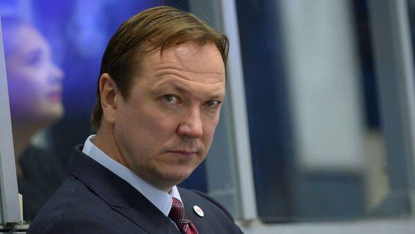 Хоккейный тренер Петерис Скудра - Sputnik Беларусь