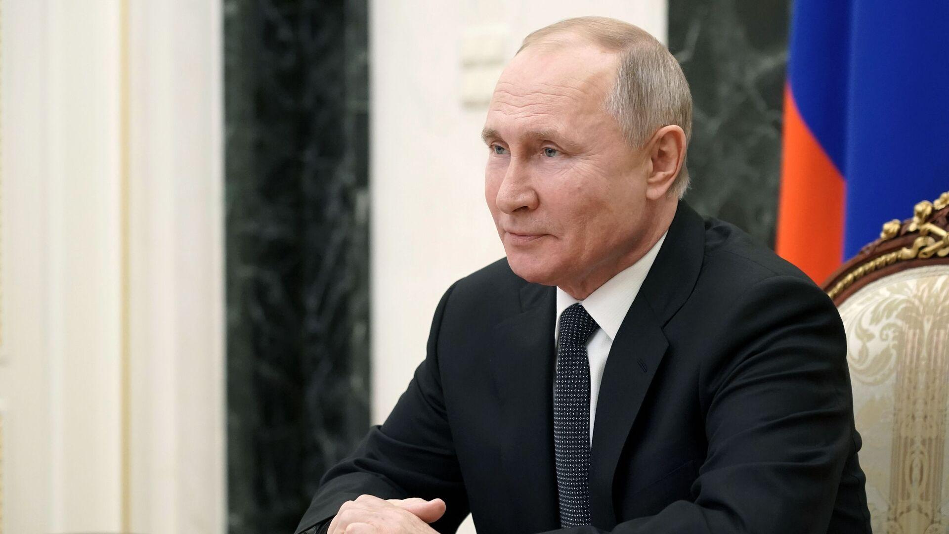 Президент РФ Владимир Путин - Sputnik Беларусь, 1920, 16.03.2021