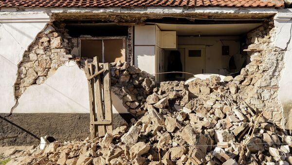 Землетрясение в Греции - Sputnik Беларусь
