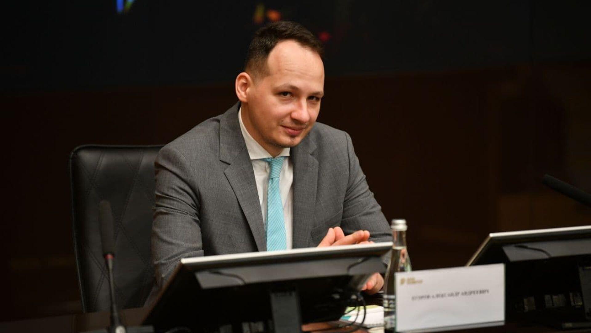 Руководитель Банка развития Александр Егоров - Sputnik Беларусь, 1920, 05.03.2021