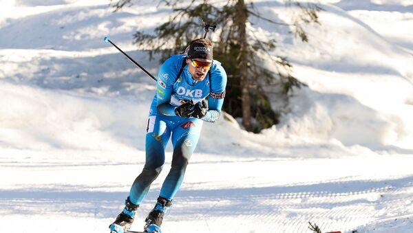 Французский биатлонист Симон Дестье - Sputnik Беларусь