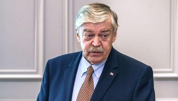 Надзвычайны і паўнамоцны пасол РФ у Латвіі Яўген Лук'янаў - Sputnik Беларусь