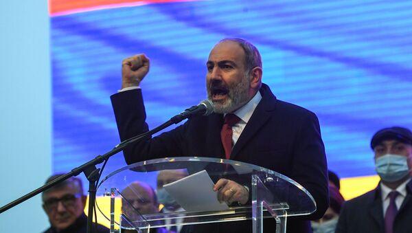 Прэм'ер-міністр Арменіі Нікол Пашынян - Sputnik Беларусь