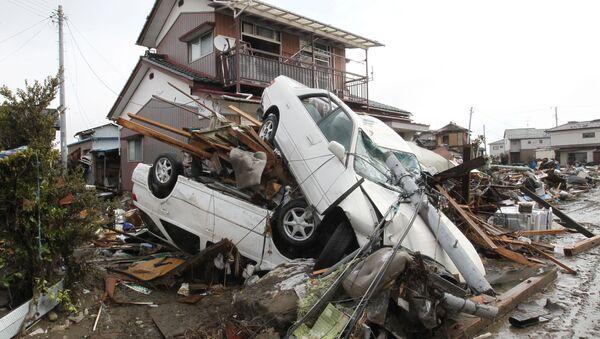 Последствия землетрясения в Японии - Sputnik Беларусь