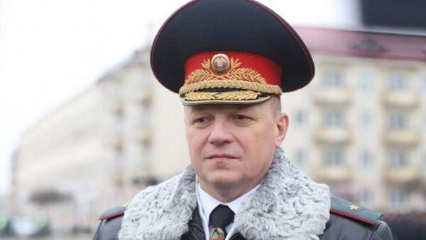 Міністр МНС Вадзім Сіняўскі - Sputnik Беларусь