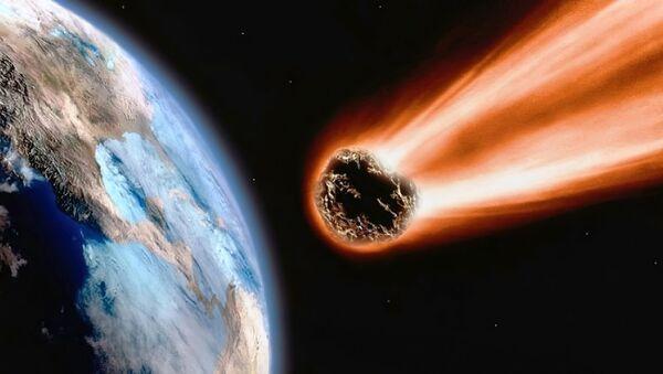 Надзвычай рэдкі метэарыт знайшлі ў Вялікабрытаніі – відэа - Sputnik Беларусь