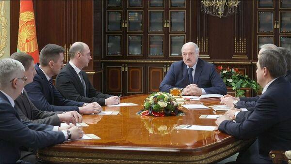 Рассмотрение кадровых вопросов у президента Беларуси Александра Лукашенко - Sputnik Беларусь